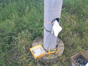 HPLF Analyzers in vent